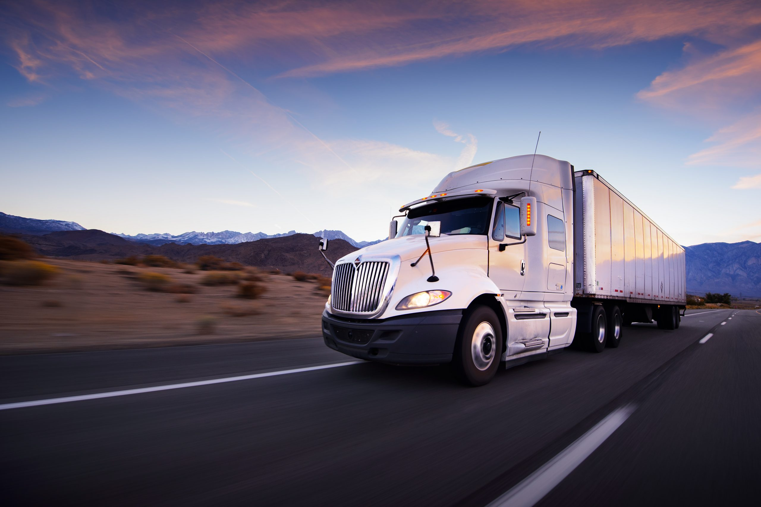 shipping vehicle