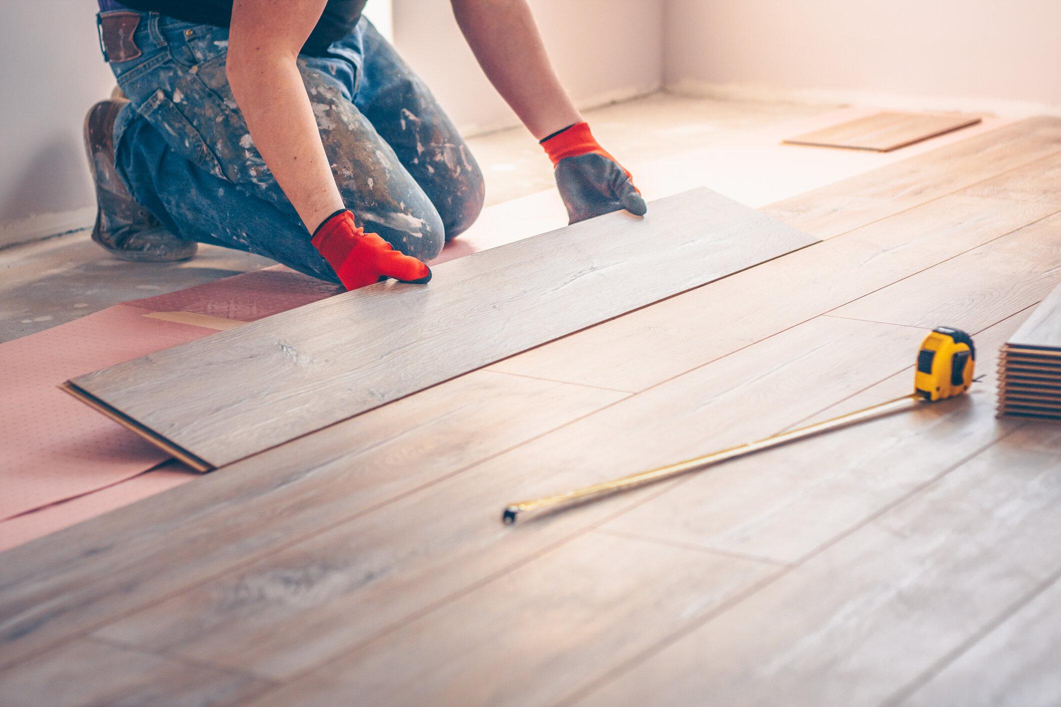 Install New Flooring