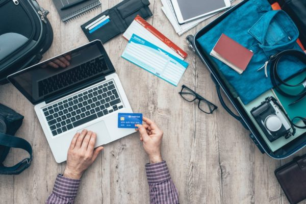 travelling using credit card